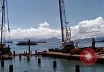 Image of pilings Phan Rang Vietnam, 1969, second 7 stock footage video 65675052279