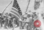 Image of Marine General Smith Tarawa Gilbert Islands, 1943, second 1 stock footage video 65675052288