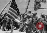 Image of Marine General Smith Tarawa Gilbert Islands, 1943, second 7 stock footage video 65675052288