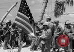 Image of Marine General Smith Tarawa Gilbert Islands, 1943, second 8 stock footage video 65675052288