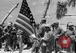 Image of Marine General Smith Tarawa Gilbert Islands, 1943, second 9 stock footage video 65675052288