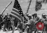 Image of Marine General Smith Tarawa Gilbert Islands, 1943, second 10 stock footage video 65675052288