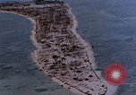 Image of aerial view of Tarawa Atoll Tarawa Gilbert Islands, 1943, second 5 stock footage video 65675052289