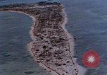 Image of aerial view of Tarawa Atoll Tarawa Gilbert Islands, 1943, second 6 stock footage video 65675052289
