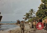 Image of marines Tarawa Gilbert Islands, 1944, second 2 stock footage video 65675052300