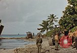 Image of marines Tarawa Gilbert Islands, 1944, second 4 stock footage video 65675052300