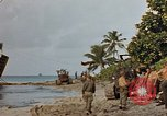 Image of marines Tarawa Gilbert Islands, 1944, second 5 stock footage video 65675052300