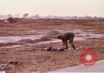 Image of United States Air Force personnel Saigon Vietnam Tan Son Nhut Air Base, 1968, second 5 stock footage video 65675052321