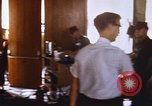 Image of damage inside United States embassy Saigon Vietnam, 1968, second 11 stock footage video 65675052379
