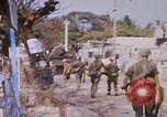 Image of US troops search for Viet Cong Saigon Vietnam, 1968, second 1 stock footage video 65675052381