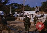 Image of US troops search for Viet Cong Saigon Vietnam, 1968, second 5 stock footage video 65675052381