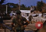 Image of US troops search for Viet Cong Saigon Vietnam, 1968, second 7 stock footage video 65675052381