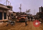 Image of wrecked buildings Saigon Vietnam, 1968, second 9 stock footage video 65675052385