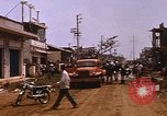 Image of wrecked buildings Saigon Vietnam, 1968, second 10 stock footage video 65675052385