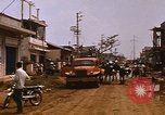 Image of wrecked buildings Saigon Vietnam, 1968, second 11 stock footage video 65675052385