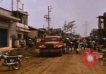 Image of wrecked buildings Saigon Vietnam, 1968, second 12 stock footage video 65675052385