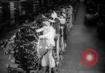 Image of Women war production workers at Douglas Aircraft Factory during World  Long Beach California USA, 1942, second 4 stock footage video 65675052405