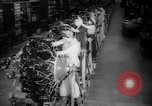 Image of Women war production workers at Douglas Aircraft Factory during World  Long Beach California USA, 1942, second 9 stock footage video 65675052405