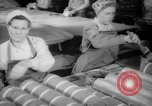Image of war production workers at Douglas Aircraft Long Beach California USA, 1942, second 3 stock footage video 65675052406