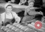 Image of war production workers at Douglas Aircraft Long Beach California USA, 1942, second 4 stock footage video 65675052406