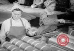 Image of old men doing bench work Long Beach California USA, 1942, second 7 stock footage video 65675052406