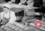 Image of war production workers at Douglas Aircraft Long Beach California USA, 1942, second 8 stock footage video 65675052406