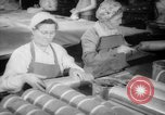 Image of old men doing bench work Long Beach California USA, 1942, second 11 stock footage video 65675052406
