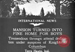 Image of Dedication of Gibault School for Boys Terre Haute Indiana USA, 1921, second 10 stock footage video 65675052452