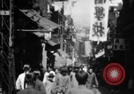Image of Chinese District Hong Kong, 1938, second 7 stock footage video 65675052464