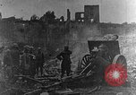 Image of British infantry soldiers firing artillery World War 1 Europe, 1916, second 1 stock footage video 65675052474