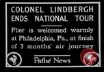 Image of Philadelphia arade for Charles Lindbergh Philadelphia Pennsylvania USA, 1927, second 7 stock footage video 65675052494