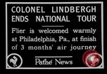 Image of Philadelphia arade for Charles Lindbergh Philadelphia Pennsylvania USA, 1927, second 11 stock footage video 65675052494