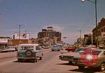 Image of traffic Rapid City South Dakota USA, 1972, second 4 stock footage video 65675052504