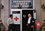 Image of Pennington County Courthouse Rapid City South Dakota USA, 1972, second 6 stock footage video 65675052511