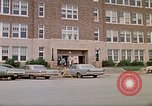 Image of Salvation Army shelter at Rapid City High School following flood Rapid City South Dakota USA, 1972, second 3 stock footage video 65675052512
