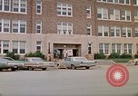 Image of Salvation Army shelter at Rapid City High School following flood Rapid City South Dakota USA, 1972, second 5 stock footage video 65675052512