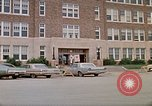Image of Salvation Army shelter at Rapid City High School following flood Rapid City South Dakota USA, 1972, second 6 stock footage video 65675052512