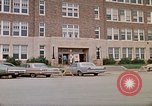 Image of Salvation Army shelter at Rapid City High School following flood Rapid City South Dakota USA, 1972, second 7 stock footage video 65675052512