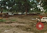 Image of wrecked trailer homes Rapid City South Dakota USA, 1972, second 7 stock footage video 65675052518