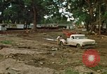 Image of wrecked trailer homes Rapid City South Dakota USA, 1972, second 9 stock footage video 65675052518