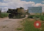 Image of bulldozers Rapid City South Dakota USA, 1972, second 11 stock footage video 65675052519