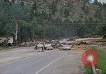 Image of military heavy equipment Rapid City South Dakota USA, 1972, second 7 stock footage video 65675052527