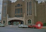 Image of Rapid City flood City Auditorium Rapid City South Dakota USA, 1972, second 12 stock footage video 65675052535