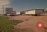 Image of Mobile Homes Rapid City South Dakota USA, 1972, second 12 stock footage video 65675052537