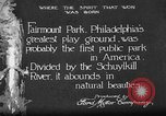 Image of Fairmount Park Philadelphia Pennsylvania USA, 1918, second 1 stock footage video 65675052553
