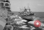 Image of ships of Seventh Fleet China Sea, 1955, second 8 stock footage video 65675052563
