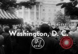 Image of President Eisenhower Washington DC USA, 1955, second 1 stock footage video 65675052565