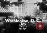 Image of President Eisenhower Washington DC USA, 1955, second 2 stock footage video 65675052565