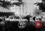 Image of President Eisenhower Washington DC USA, 1955, second 3 stock footage video 65675052565