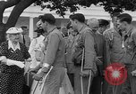 Image of President Eisenhower Washington DC USA, 1955, second 6 stock footage video 65675052565
